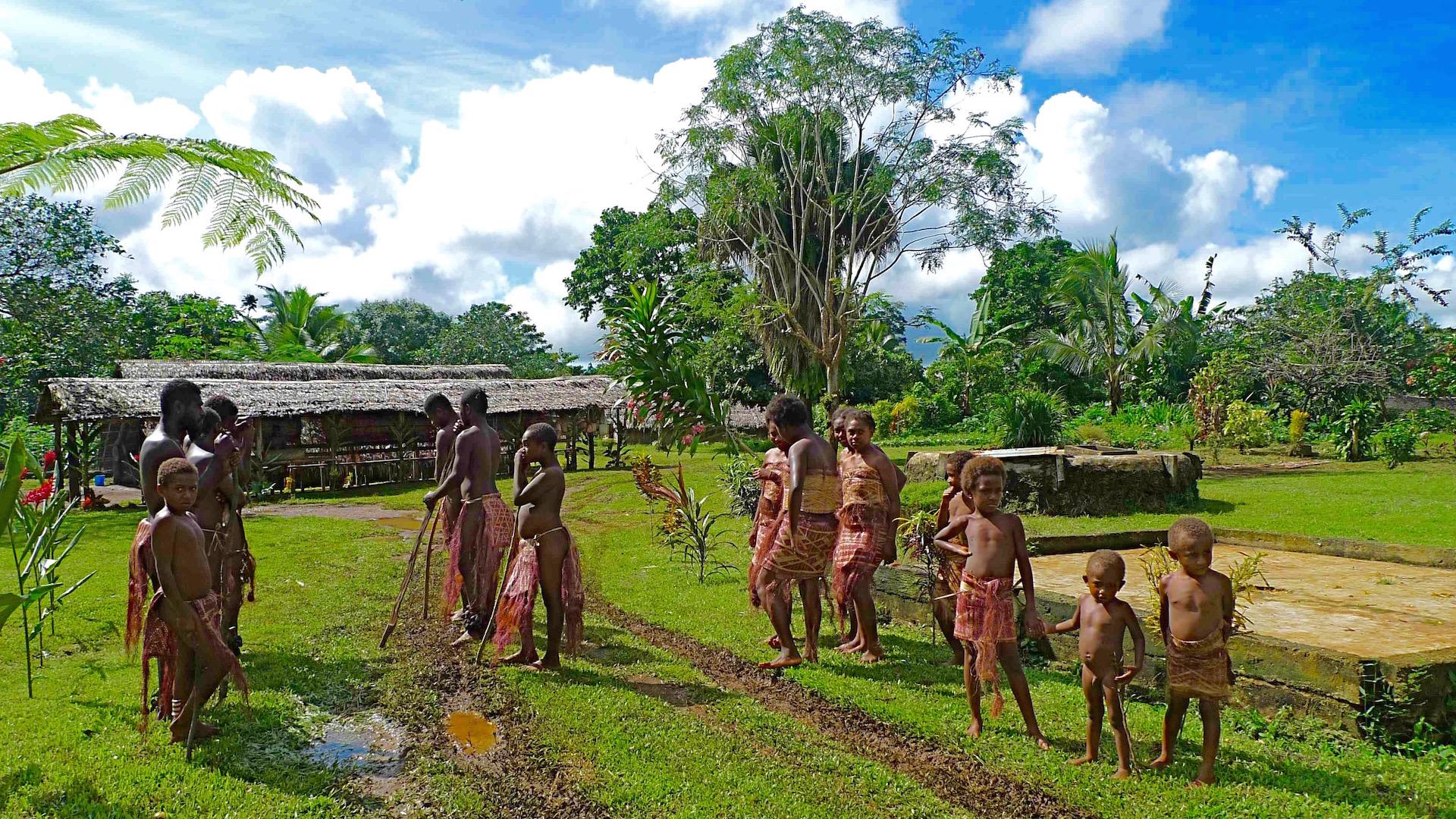 Fanafu village, Vanuatu