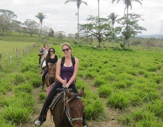 Belize Horseback ride