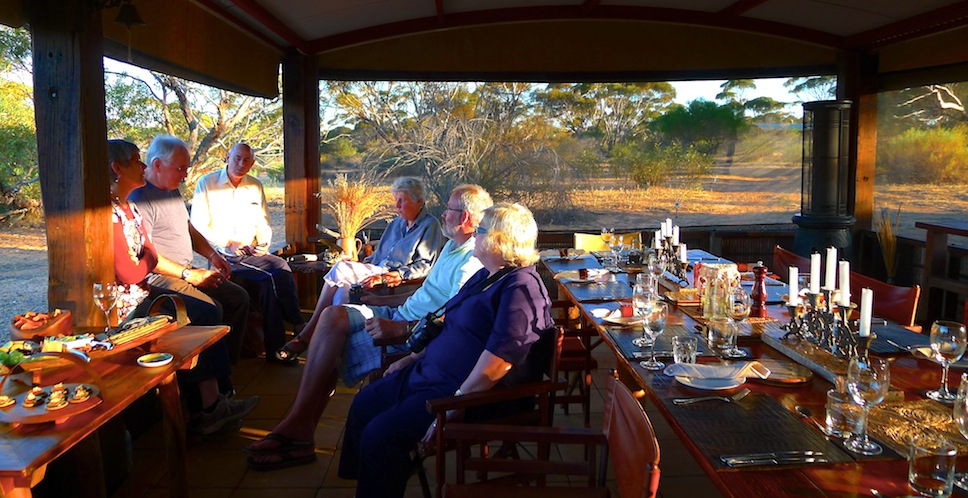 Kangaluna Camp Dinner