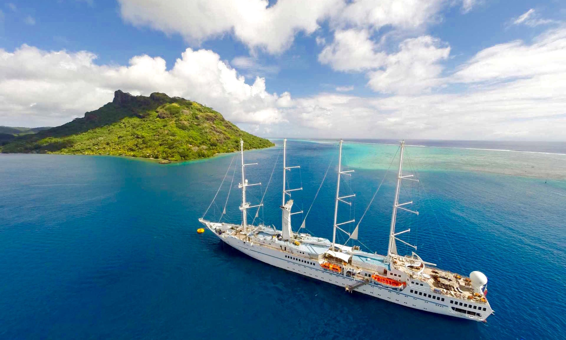 Windstar Cruises, Tahiti
