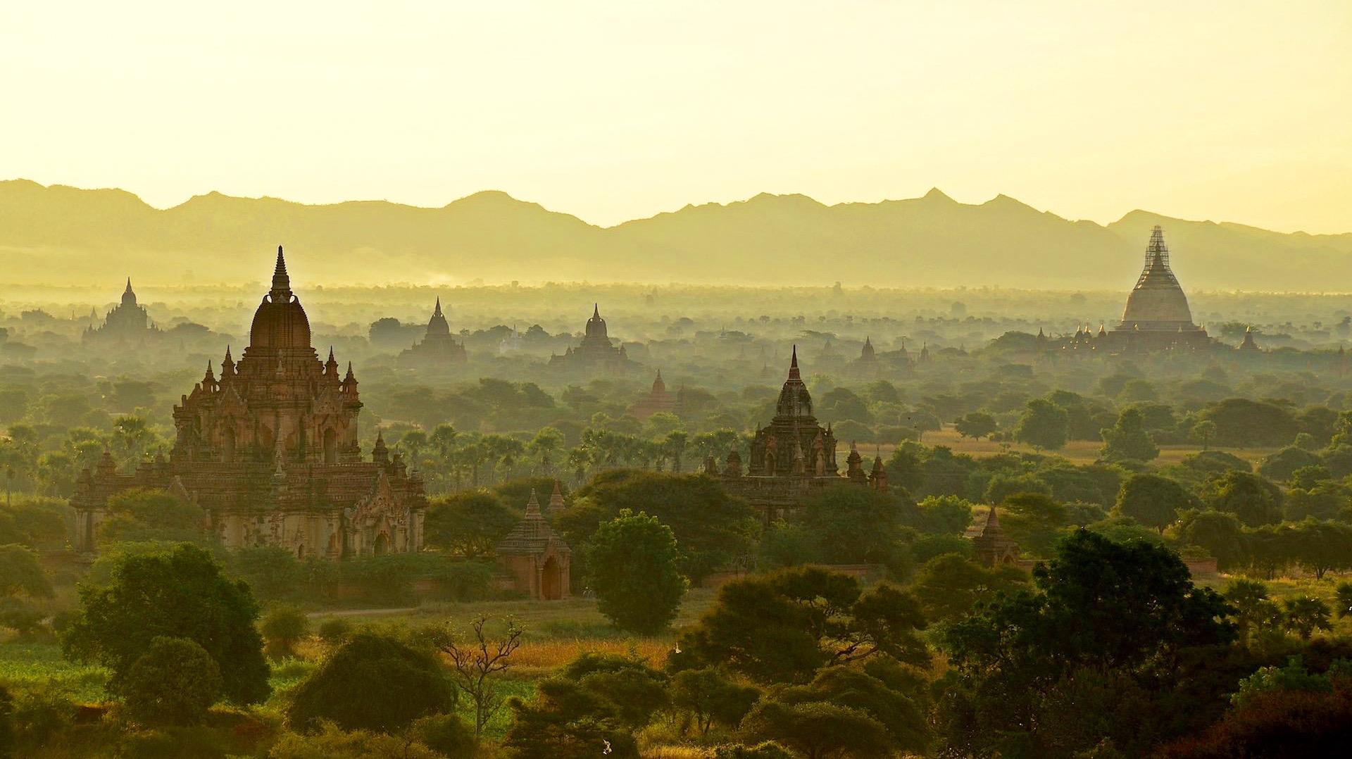 Bagan, Burman