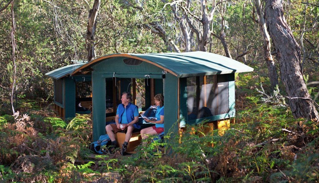 Casuarina Beach Camp, Maria Island Walk, Tasmania
