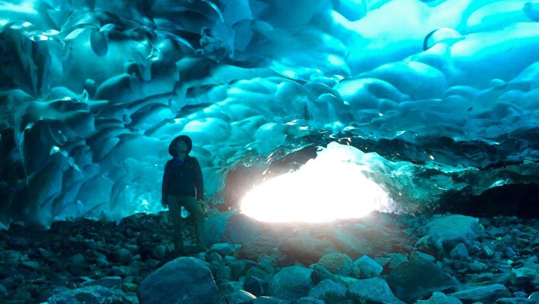 Mendenhall Glacier Ice Cave, Alaska